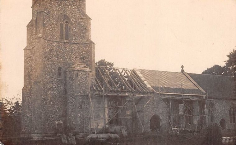 KB Church roof repairs c1914-18